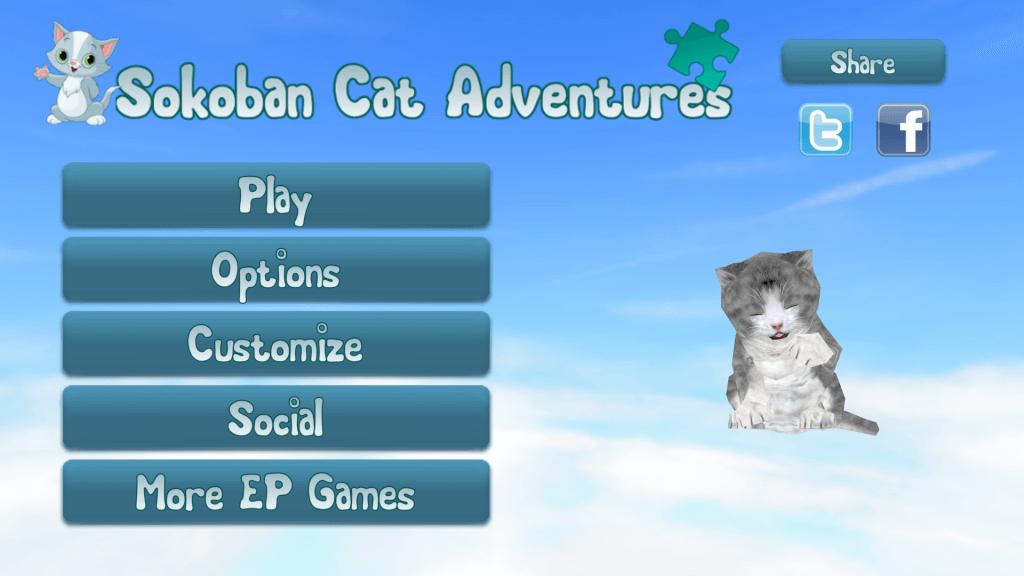 EP Sokoban Catzzles screen 1
