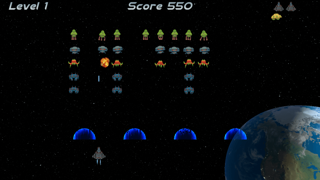 EP Alien Attack screen 1